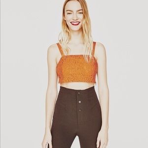NWT CROP TOP from Zara